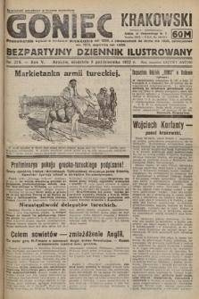 Goniec Krakowski : bezpartyjny dziennik popularny. 1922, nr276