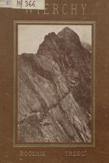 Wierchy : rocznik poświęcony górom i góralszczyźnie. R.3, 1925