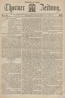 Thorner Zeitung. 1869, Nro. 14 (17 Januar)