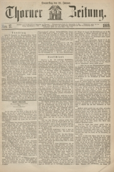 Thorner Zeitung. 1869, Nro. 17 (21 Januar)