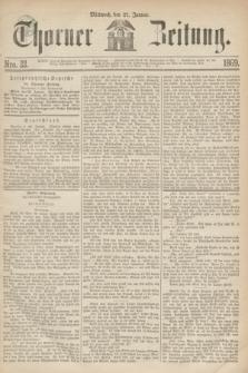 Thorner Zeitung. 1869, Nro. 22 (27 Januar)