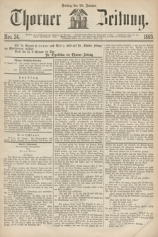 Thorner Zeitung. 1869, Nro. 24 (29 Januar)
