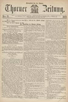 Thorner Zeitung. 1869, Nro. 25 (30 Januar)