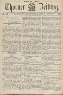 Thorner Zeitung. 1869, Nro. 28 (3 Februar)