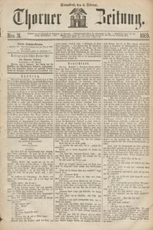 Thorner Zeitung. 1869, Nro. 31 (6 Februar) + wkładka