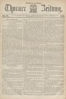 Thorner Zeitung. 1869, Nro. 45 (23 Februar)
