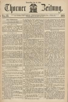Thorner Zeitung. 1869, Nro. 121 (27 Mai)