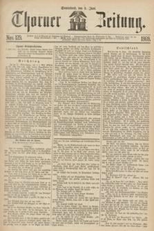 Thorner Zeitung. 1869, Nro. 129 (5 Juni)