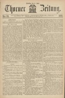 Thorner Zeitung. 1869, Nro. 131 (8 Juni)