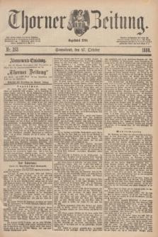 Thorner Zeitung : Begründet 1760. 1888, Nr. 253 (27 October)