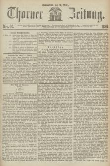 Thorner Zeitung. 1870, Nro. 60 (12 März)