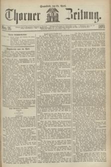 Thorner Zeitung. 1870, Nro. 95 (23 April)