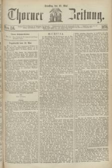 Thorner Zeitung. 1870, Nro. 114 (17 Mai)