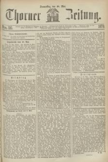 Thorner Zeitung. 1870, Nro. 116 (19 Mai)