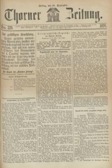 Thorner Zeitung. 1870, Nro. 229 (30 September)