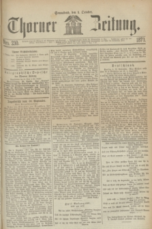 Thorner Zeitung. 1870, Nro. 230 (1 October)