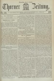 Thorner Zeitung. 1870, Nro. 234 (6 October)