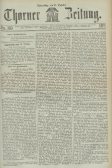Thorner Zeitung. 1870, Nro. 240 (13 October)