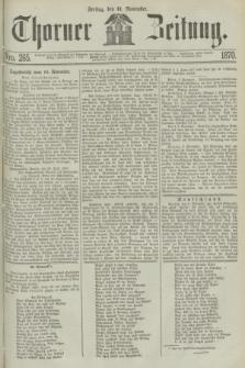 Thorner Zeitung. 1870, Nro. 265 (11 November)