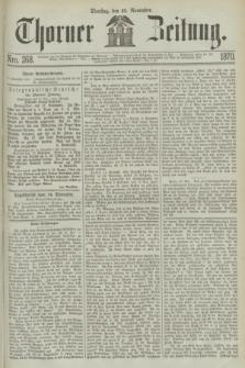 Thorner Zeitung. 1870, Nro. 268 (15 November)