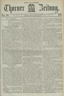 Thorner Zeitung. 1870, Nro. 289 (9 December)