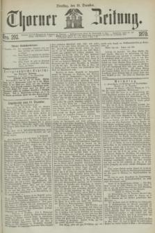 Thorner Zeitung. 1870, Nro. 292 (13 December)