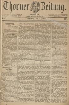 Thorner Zeitung : Gegründet 1760. 1877, Nro. 8 (11 Januar)