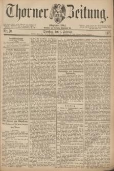 Thorner Zeitung : Gegründet 1760. 1877, Nro. 30 (6 Februar)
