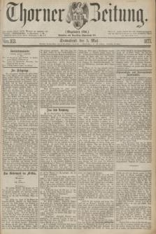 Thorner Zeitung : Gegründet 1760. 1877, Nro. 103 (5 Mai)