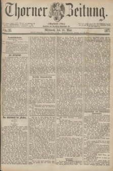 Thorner Zeitung : Gegründet 1760. 1877, Nro. 116 (23 Mai)
