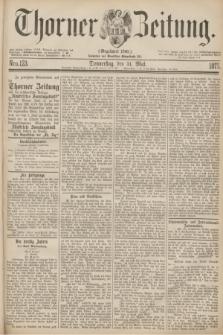 Thorner Zeitung : Gegründet 1760. 1877, Nro. 123 (31 Mai)