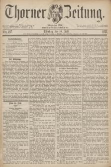 Thorner Zeitung : Gegründet 1760. 1877, Nro. 157 (10 Juli)