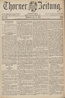 Thorner Zeitung : Gegründet 1760. 1877, Nro. 158 (11 Juli)