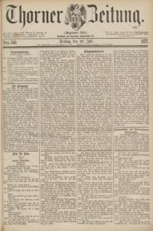 Thorner Zeitung : Gegründet 1760. 1877, Nro. 166 (20 Juli)