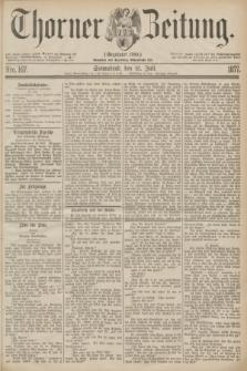Thorner Zeitung : Gegründet 1760. 1877, Nro. 167 (21 Juli)