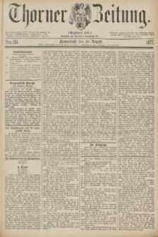 Thorner Zeitung : Gegründet 1760. 1877, Nro. 191 (18 August)