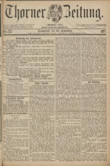 Thorner Zeitung : Gegründet 1760. 1877, Nro. 227 (29 September)