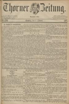 Thorner Zeitung : Begründet 1760. 1877, Nro. 234 (7 Oktober) + dod.