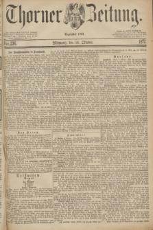 Thorner Zeitung : Begründet 1760. 1877, Nro. 236 (10 Oktober)