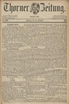 Thorner Zeitung : Begründet 1760. 1877, Nro. 238 (12 Oktober)