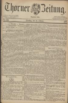 Thorner Zeitung : Begründet 1760. 1877, Nro. 253 (30 Oktober)