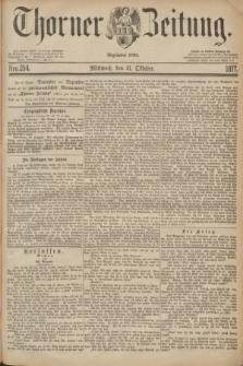 Thorner Zeitung : Begründet 1760. 1877, Nro. 254 (31 Oktober)