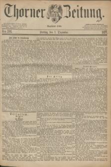 Thorner Zeitung : Begründet 1760. 1877, Nro. 286 (7 Dezember)