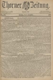 Thorner Zeitung : Begründet 1760. 1877, Nro. 288 (9 Dezember) + dod.