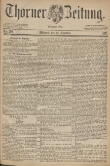 Thorner Zeitung : Begründet 1760. 1877, Nro. 290 (12 Dezember)