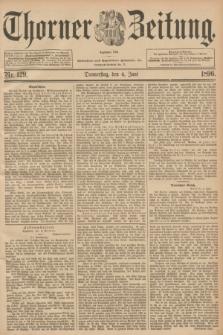 Thorner Zeitung : Begründet 1760. 1896, Nr. 129 (4 Juni)