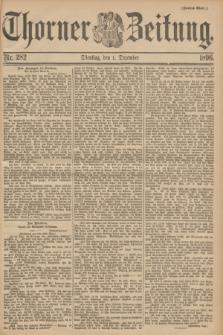 Thorner Zeitung. 1896, Nr. 282 (1 Dezember) - Zweites Blatt