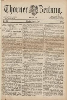 Thorner Zeitung : Begründet 1760. 1883, Nr. 151 (3 Juli)