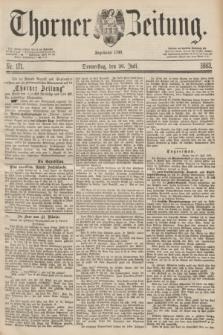 Thorner Zeitung : Begründet 1760. 1883, Nr. 171 (26 Juli)