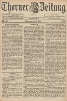 Thorner Zeitung : Begründet 1760. 1898, Nr. 52 (3 März)